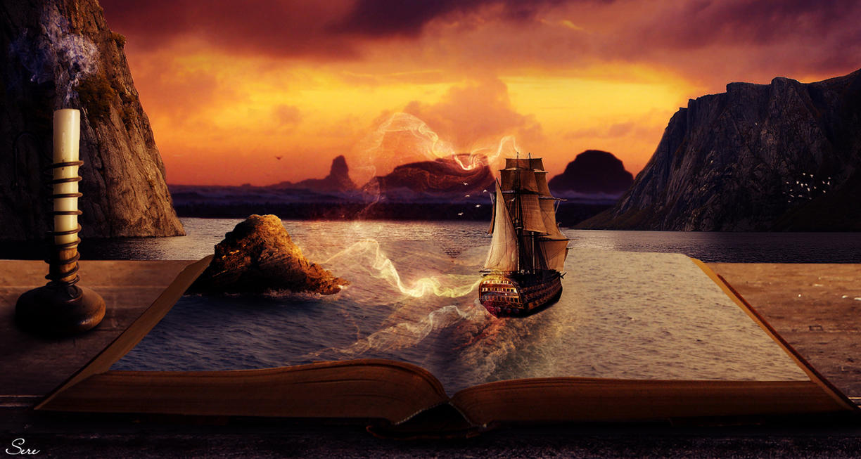 A Pirate's Story by Olgola