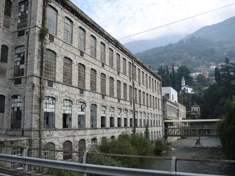 Old factory by Olgola