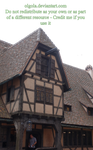 Medieval house 02 - PNG