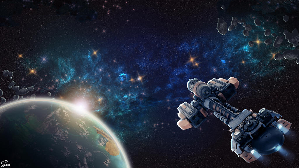 Lost in Space - Wallpaper