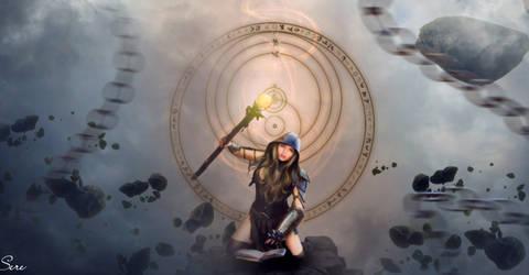 Pretty Witch by Olgola