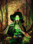 Halloween spell by Olgola