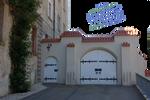 Castle Doors - PNG