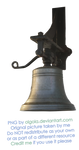 Bell - PNG by Olgola