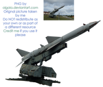 Missile 01 - PNG by Olgola