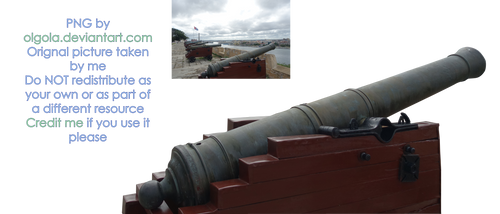 Cannon 04 - PNG by Olgola