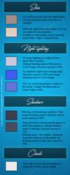 Color palette by Olgola