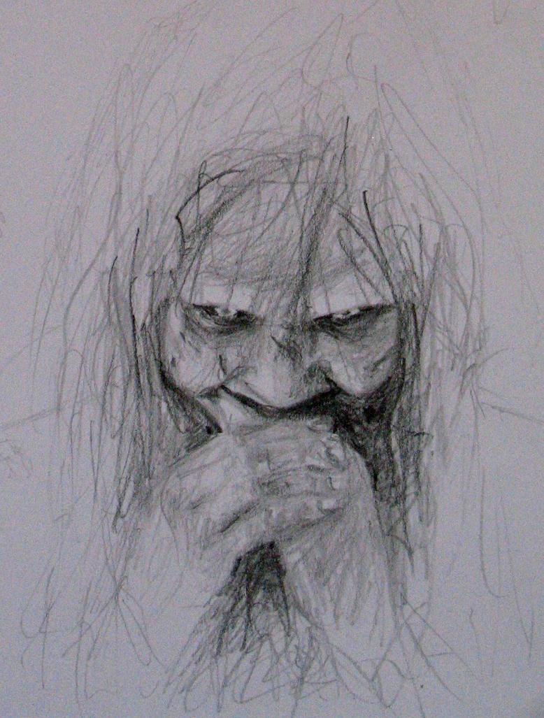 easy creepy pencil drawings - photo #19
