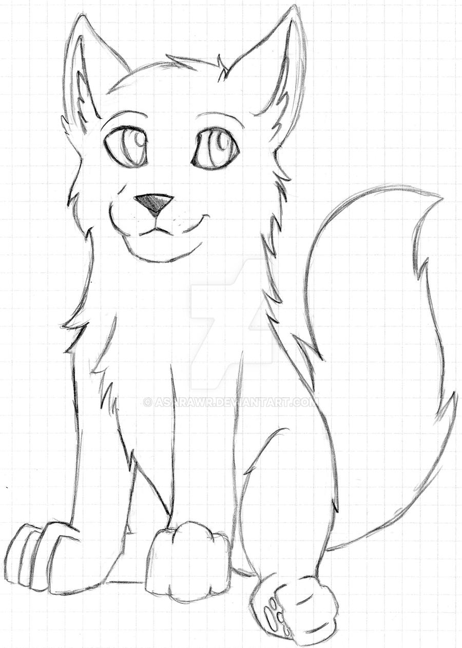 Uncategorized Wolf Pup Drawing unfinished wolf pup by asarawr on deviantart asarawr