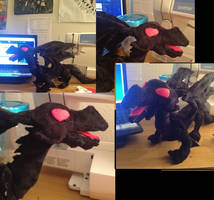 Red Eyes Black Dragon Plush