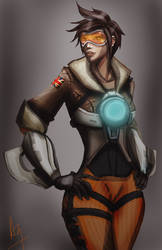 Tracer  | Overwatch by dromsfallenruins
