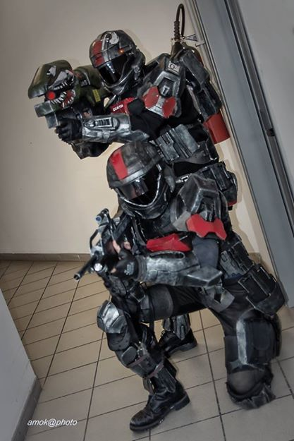 ODST - Halo 3 ODST Costume by FredProps ... & ODST - Halo 3 ODST Costume by FredProps on DeviantArt