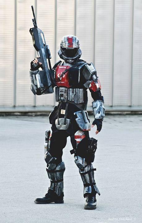 Odst halo 3 odst costume by fredprops on deviantart - Halo odst images ...
