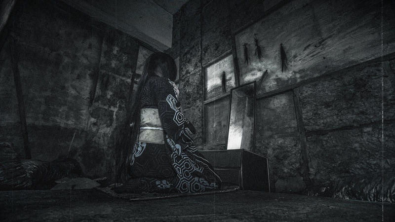 Fatal Frame III - Brushing Woman by NattoKan
