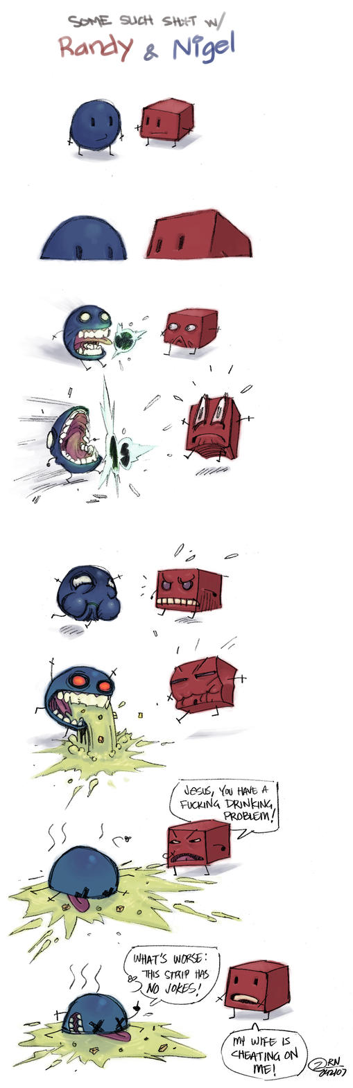 Randy and Nigel Strip by Z-control