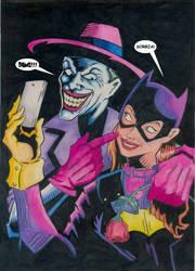 Coringa e Batgirl