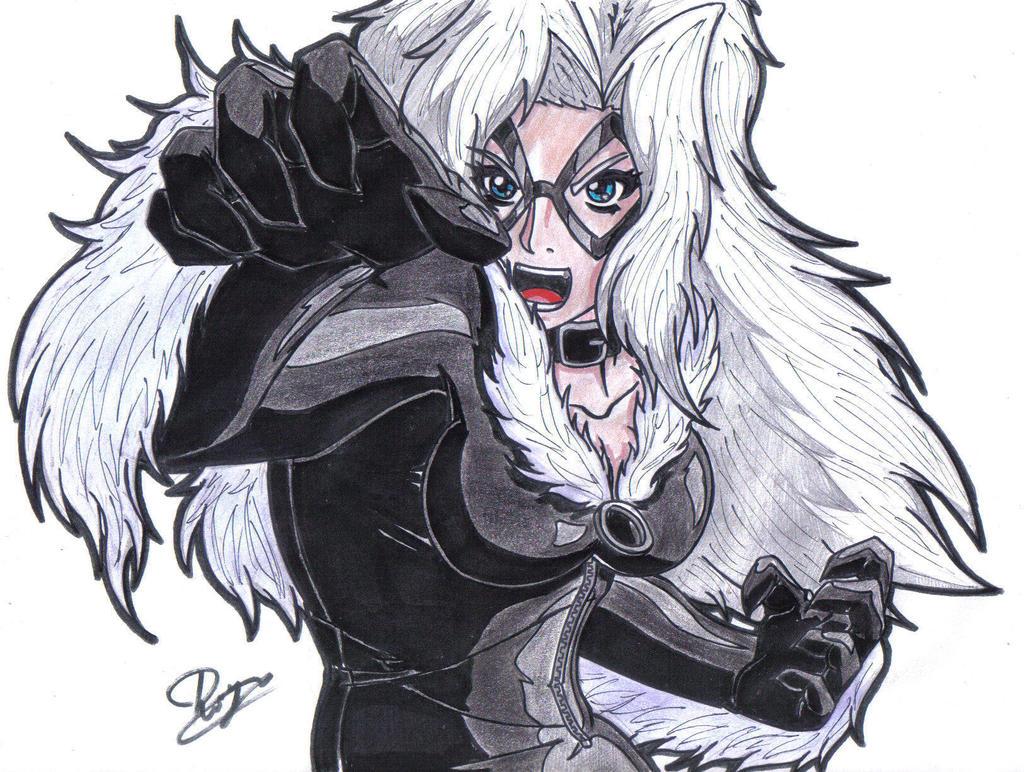 Black Cat by WildMagnus