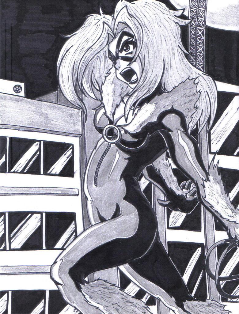 BlackCat -002 by WildMagnus
