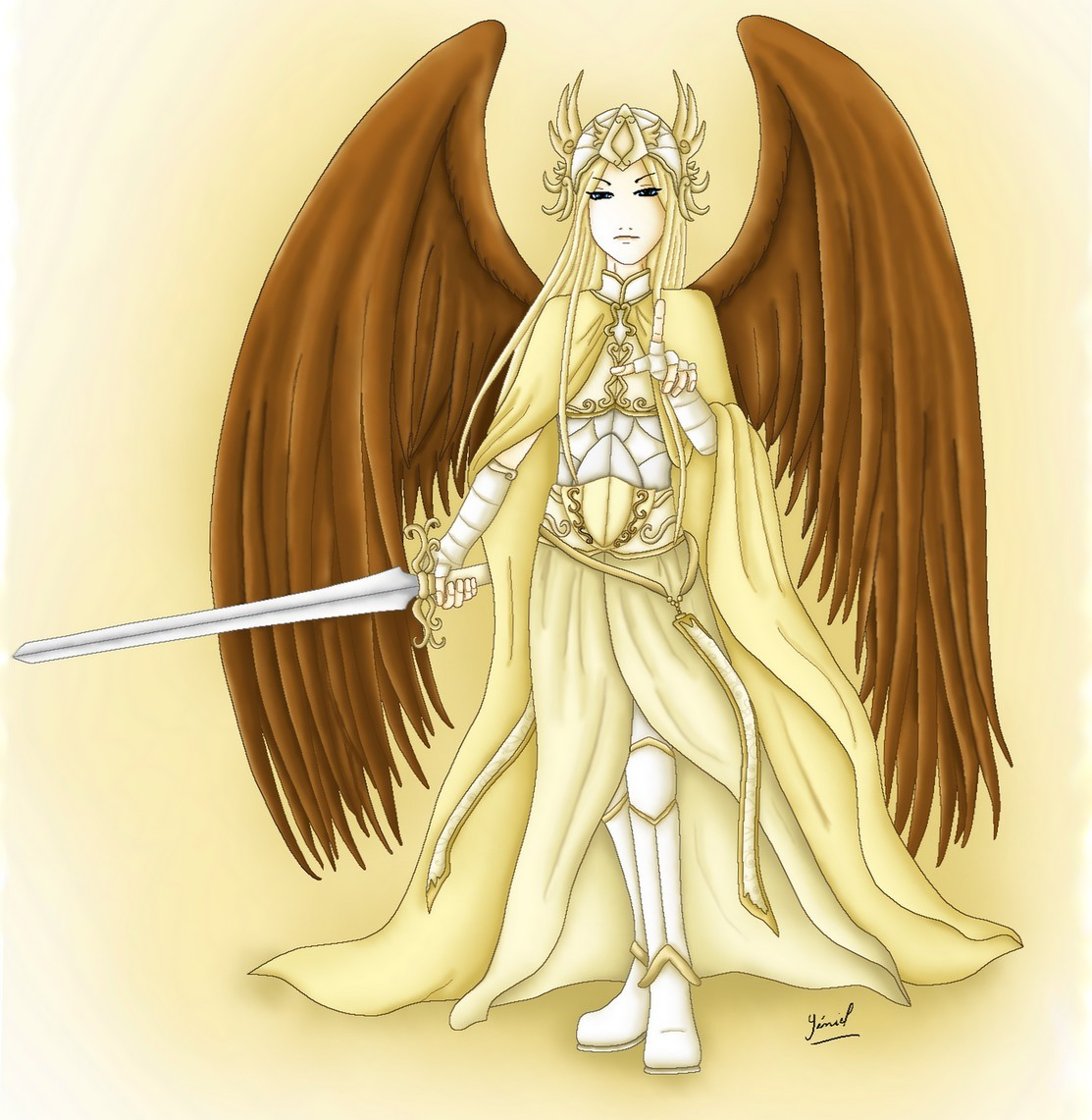 Archangel St Michael by Yeniel on DeviantArt