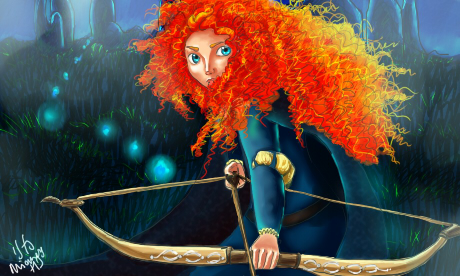 Merida Brave by MiamoryHJ