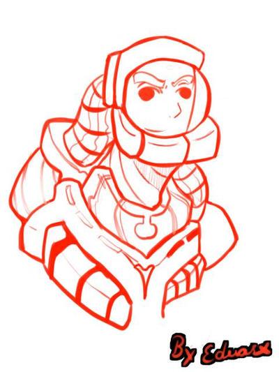 space man  by eduaex