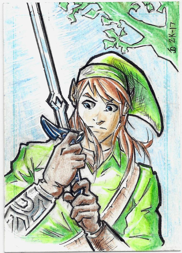 Link - Sketch Card by Ratcrack