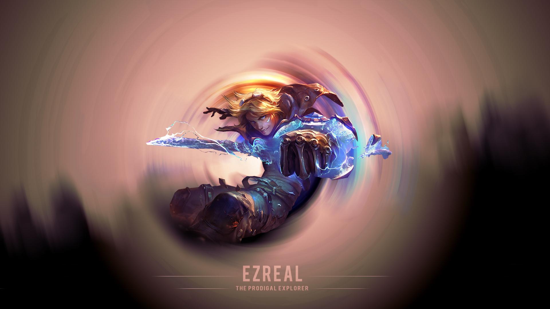 Ezreal The Prodigal Explorer Wallpaper by DarkunePlays on ...