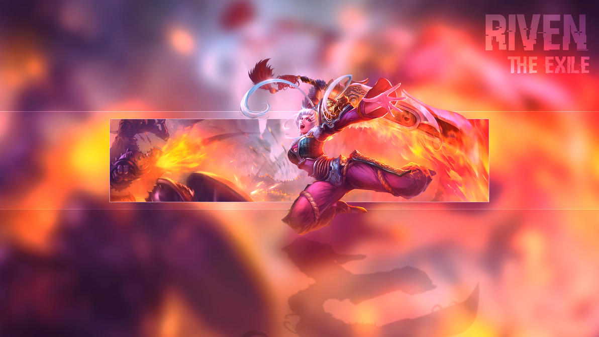 DragonBlade Riven Wallpaper By DarkunePlays