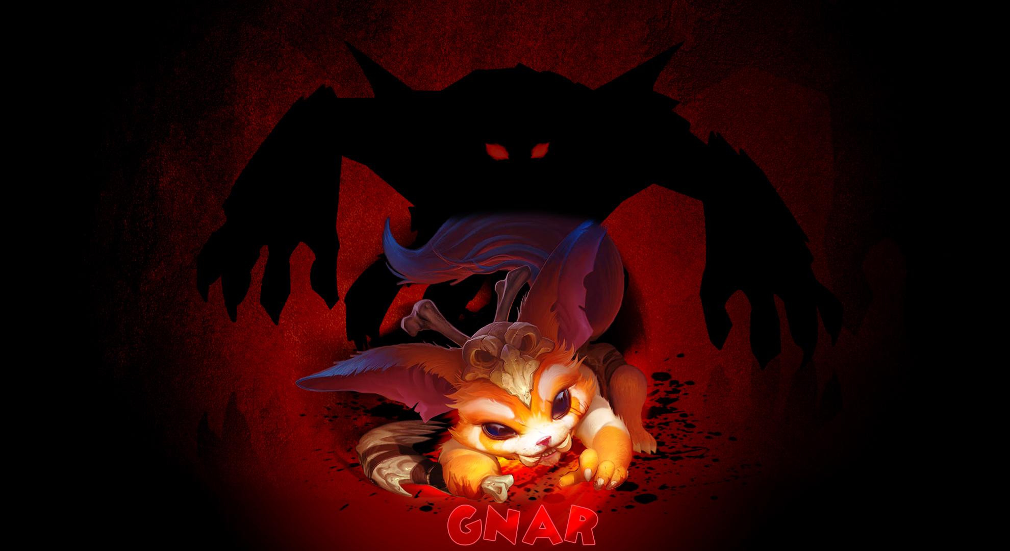 Gnar The Missing Link Wallpaper By Darkuneplays On Deviantart