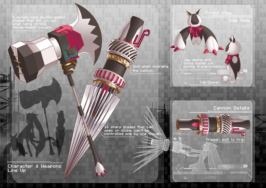 ZERO :: Alicia's Weapons by yaocchi