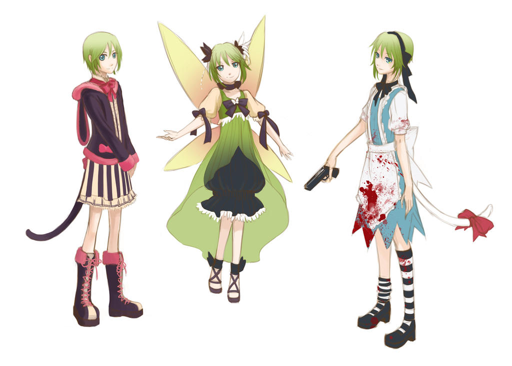 Zero Halloween :: Costume sketches by yaocchi on DeviantArt