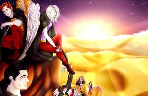 Cadeau et reprise pour NissaFY - Guards of the Sky by FlashRa