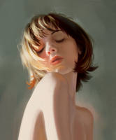 Light Study + TUTORIAL! by LadyChamomile