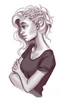 Gray scale practice by LadyChamomile