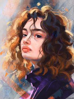 Texture Study Portrait