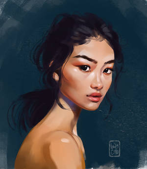 Yet another portrait study
