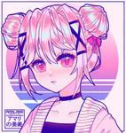 Anime Girl   Pink Aesthetic [Oc]