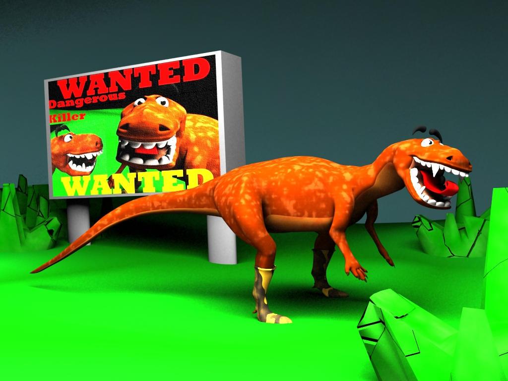Dinosaur :WANTED KILLER: