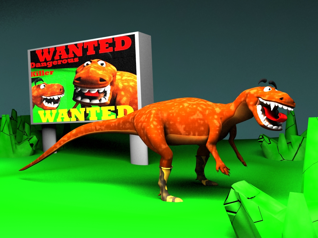 Dinosaur :WANTED KILLER: by AbhishekKr