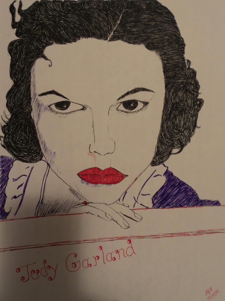 sketch attempt of Judy Garland by AbhishekKr
