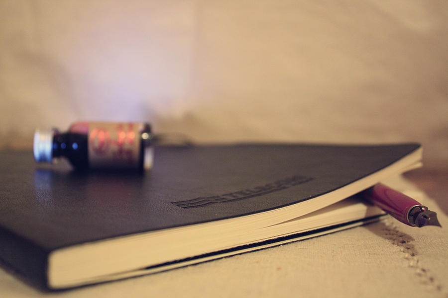 Just another Moleskine. by DarkChiara