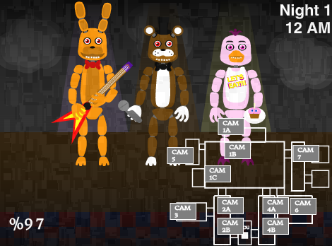 O O wait what~playing a fnaf 3 fanmade game by sodatube101