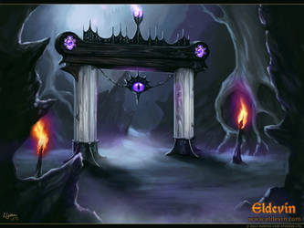 Eldevin - Infernal Garrison Watch Gate by LouisaGallie
