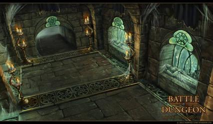 Battle Dungeon - Goldstone Crypt by LouisaGallie