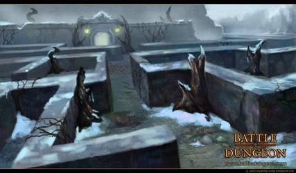 Battle Dungeon - Mistborn Maze by LouisaGallie