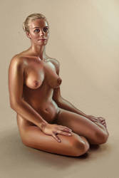 Nude Study by LouisaGallie