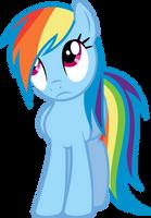 Rainbow Dash 'Whatever...' by blueblitzie