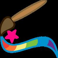 My Ponysona's Cutie Mark by blueblitzie