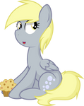 Derpy and her Muffin