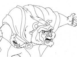 Fanart 111 - The Beast